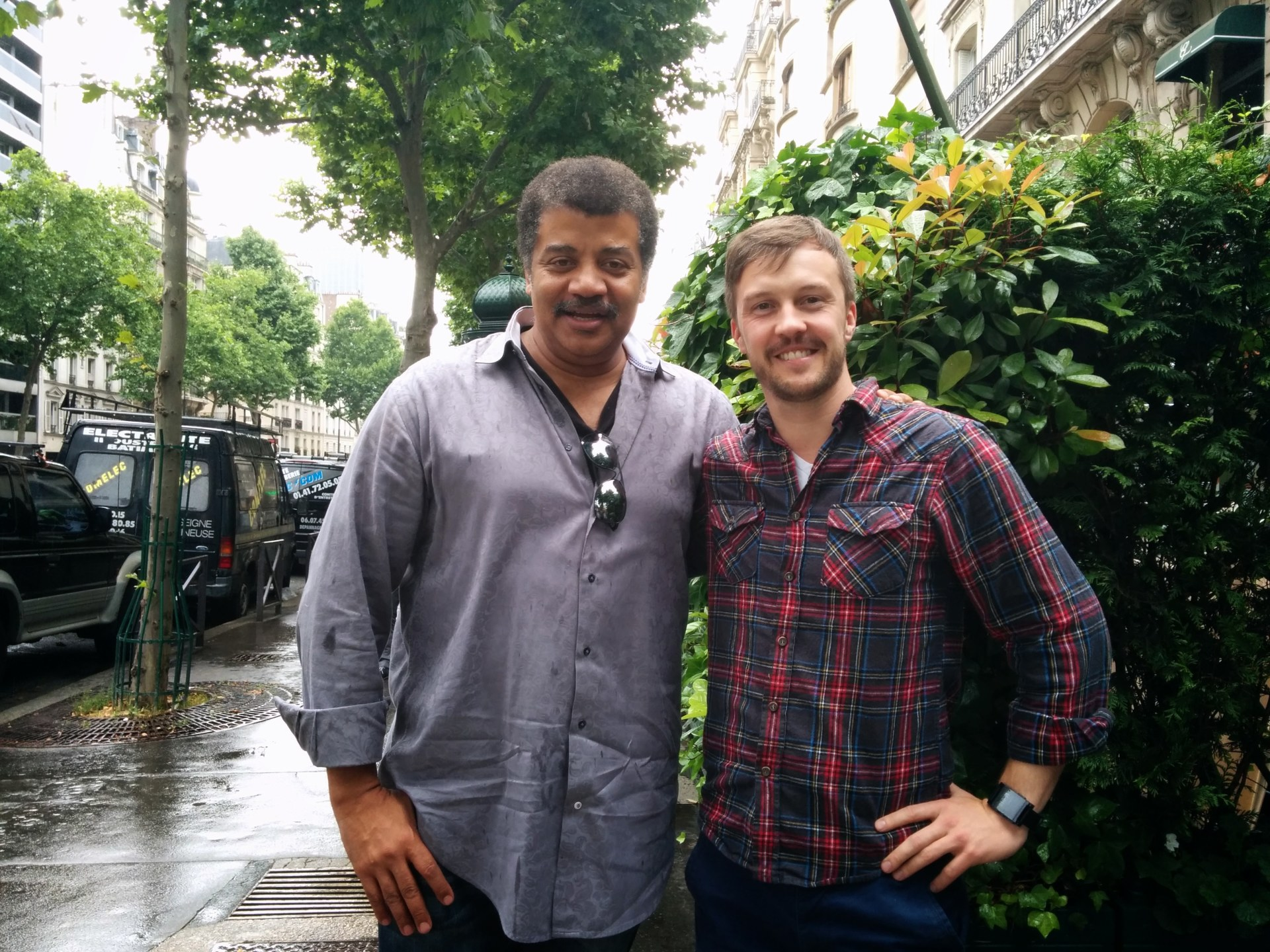 Neil deGrasse Tyson and Paul Anthony Wilson